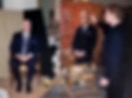 Портрет Премьера Министра Канады Браяна Малруни, художник Игорь Бабайлов