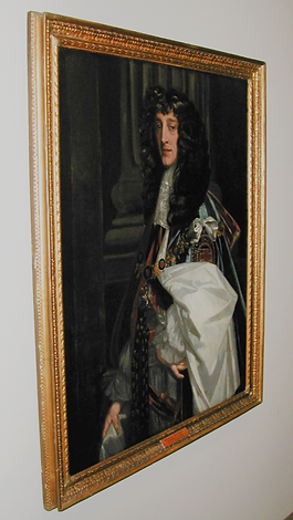 Portrait of Prince Rupert, First Governor of the Hudson's Bay Company, by artist Sir Pete Lely. Igor Babailov portrait of Governor Yves Fortier hangs alongside this portrait and other great masters.