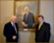 Ambassador Michael Novak and Igor Babailov - Portrait Unveiling