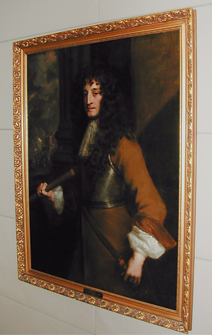 Portrait of Prince Rupert, First Governor of the Hudson's Bay Company, by artist Sir Anthony Van Dyck. Igor Babailov portrait of Governor Yves Fortier hangs alongside this portrait and other great masters.