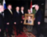 Official Portrait of President Vladimir Putin of Russia, Official Portrait Presentation. Portrait by Igor Babailov.