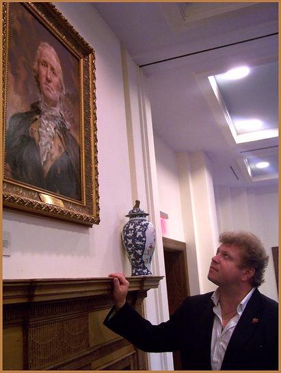 Igor Babailov's Portrait of George Washington at Mount Vernon Museum