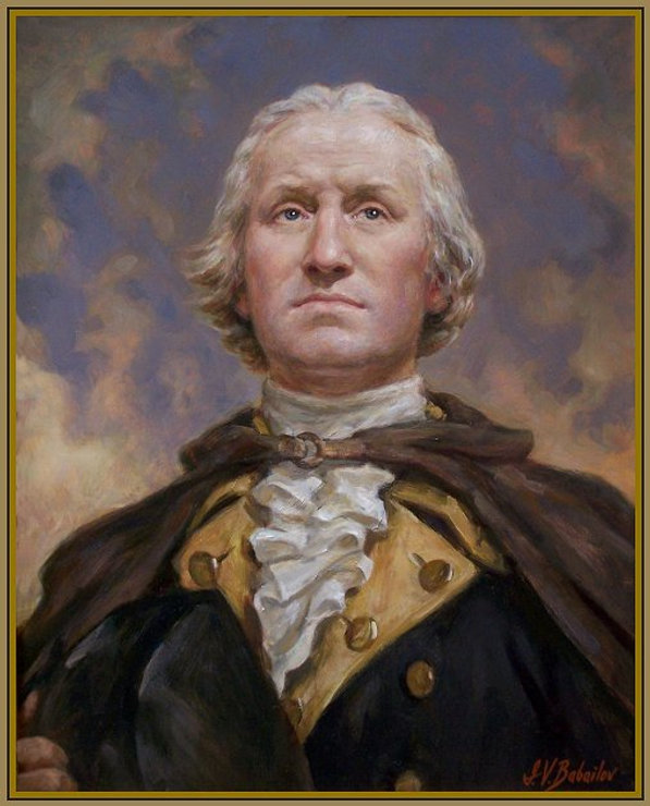 NEW Portrait of George Washington -My Beloved Country!- , by master portrait painter Igor Babailov. It is based on the most accurate likeness of George Washington, depicted in his sculpture by Jean-Antoine Houdon. Collection: Mount Vernon Museum, Mount Vernon, Virginia.