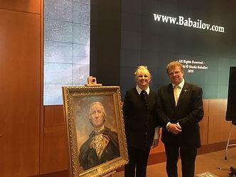 George Washington's Mount Vernon - Fellowship with Igor Babailov, Portrait of Washington