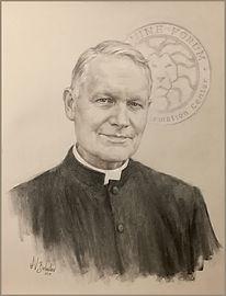 Fr. Arne Panula - portrait by Igor Babailov