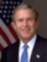 Credit: White house photo by Eric Draper. / Public domain.https://commons.wikimedia.org/wiki/File:George-W-Bush.jpeg