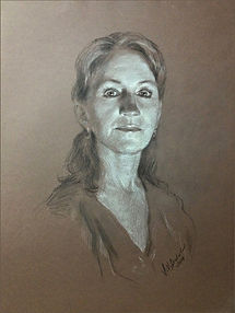 Drawing of Lisa Balkon, by Igor Babailov