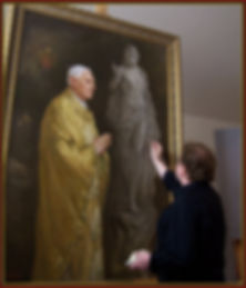 Babailov - Painting the Portrait of Pope