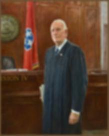 Portrait of Judge Seth W. Norman, portrait by Igor Babailov. Nashville, TN