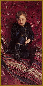 By Ilya Repin - Portrait of the Artist's son. About Portraiture, Igor Babailov.