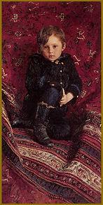 By Ilya Repin - Portrait of the Artist's son. About Portraiture, Igor Babailov.