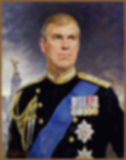PORTRAIT of His Royal Highness Prince Andrew The Duke of York, by Igor Babailov. Collection: Buckingham Palace, London