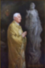 Official portrait of Pope Benedict XVI, by Igor Babailov. Selected by the Pope for the Vatican Splendors museum international tour. Collection: Vatican. Sacred Art by Igor Babailov.