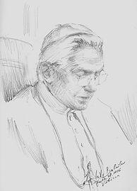 Life Sketch of Pope Benedict XVI, by Igor Babailov