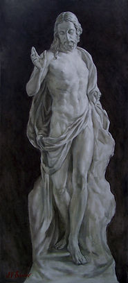 Vita - The Risen Jesus Christ.  Painting by Igor Babailov. Incorporated in the Vatican portrait of Pope Benedict XVI.