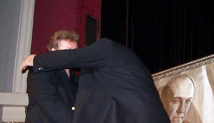 Igor and Gandolfini, HUG.jpg