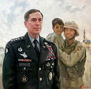 Portrait of General David Petraeus, by Igor Babailov. Collection: West Point Academy Museum