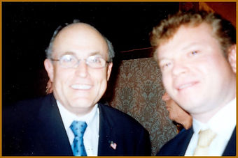 Rudy Giuliani and Igor Babailov. Official portrait unveiling, New York City