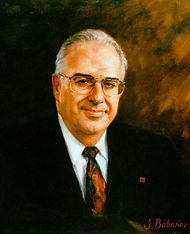 Portrait of Andre Berard, President, National Bank of Canada - portrait by Igor Babailov