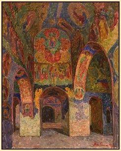 Zabelin, Interior of St.Isidore, City of