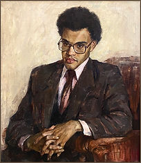 Portrait of Valera, by Igor Babailov, Portraits of African-Americans, portraits of black people