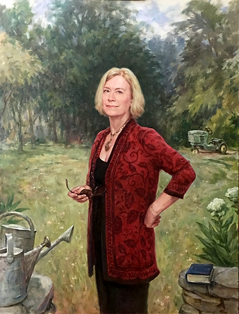Portrait of Kaye, oil on canvas, by Igor Babailov. Collection: Brentwood, TN