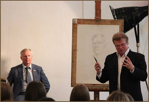 Igor Babailov, Speaker, Master portrait demonstrations.