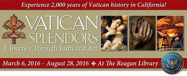 Portrait artist Igor Babailov - Vatican Splendors, at the Ronald Reagan Presidential Library