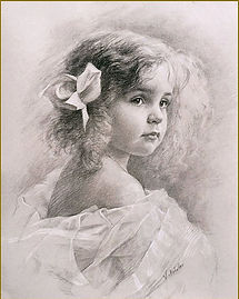 Portrait of a Little Girl, by Igor Babailov