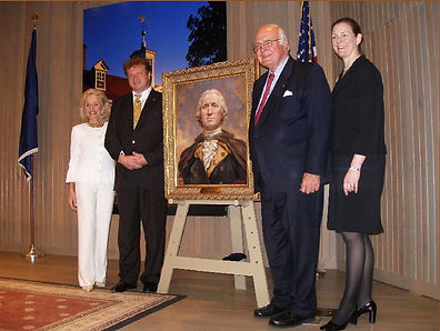 Official Unveiling of the NEW Portrait of George Washington, by master portrait painter Igor Babailov. It is based on the most accurate likeness of George Washington, depicted in his statue by Jean-Antoine Houdon. Collection: Mount Vernon Museum, Mount Vernon, Virginia.
