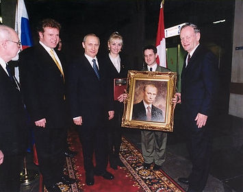 Official Portrait of President Vladimir Putin, by Igor Babailov. Official Portrait Presentation