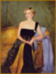 Portrait of Ann Lemire by Igor Babailov. Family portraits of WOMEN by Igor Babailov.