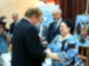 Igor Babailov, Order of St. Anne, HIH Grand Suchess Maria Vladimirovna, Malta, 2017.