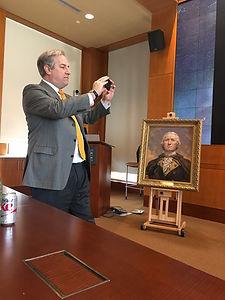 George Washington's Mount Vernon - Fellowship with Igor Babailov, president Douglas Bradburn