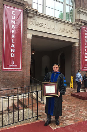 Cumberland University, Honorary Doctorate, presented to Igor Babailov (2019)