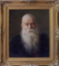 Ivan Ivanovich, Portrait of an Old Man, Painting from life by Igor Babailov