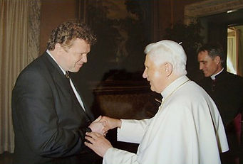 News - Igor Babailov's Audience with His Holiness Pope Benedict XVI. Apostolic Palace, Vatican.