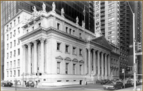 Collection: Historic Courthouse, Supreme Court of the State of New York, First Appellate Division, New York City.Official portrait by Igor Babailov.