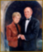 Portrait of Randolph and Patricia Doerter (oil on canvas), by portrait artist Igor Babailov. Family collection: Nashville, TN