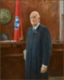 "Portrait of Judge Seth W. Norman (50""x 40"", oil on canvas), by Igor Babailov.  Collection:  20th Judicial District Criminal Court ( Division IV), Justice A.A. Birch Building,  Nashville, TN."