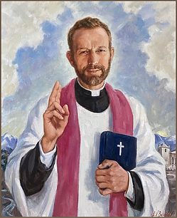 Official Portrait of Blessed Stanley Rother, by Igor Babailov. Fr. Stanley Rother was an American Roman Catholic priest from Archdiocese of Oklahoma City, who was murdered in Guatemala. He is the first American-born priest and martyr, beatified by the Catholic Church, Pope Francis in the Vatican. First American-born Saint.
