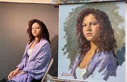 Igor Babailov Master Workshop - Portrait in Oil, Master Demo - by Igor Babailov