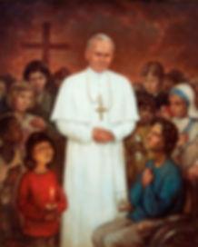 Portrait of Pope John Paul II, by Igor B
