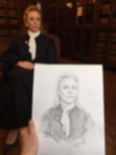 Portrait of Justice Annette Ziegler, Supreme Court of Wisconsin. Portraits by portrait artist Igor Babailov.