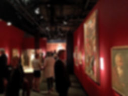 Portrait artist Igor Babailov and the Vatican Splendors Exhibition at the Reagan Library