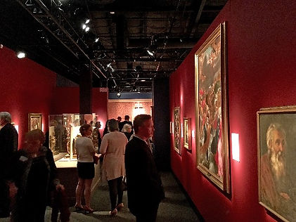 Portrait artist Igor Babailov and the Vatican Splendors Exhibition at the Reagan Library