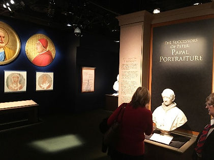 Igor Babailov with the Vatican Splendors Exhibition at the Reagan Library