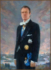 Portrait of His Imperial Highness Grand Duke Vladimir Kirillovich Romanov, by Igor Babailov. Collection: Imperial House of Romanov