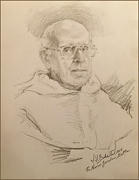 Fr. Marius Zerafa in Malta, Portrait from Life By Igor Babailov