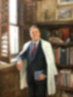 Portrait of C. Wright Pinson, MD, MBA,  CEO of the Vanderbilt Health System, Nashville, TN,  by Igor Babailov
